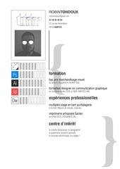Fichier PDF cv rtondoux