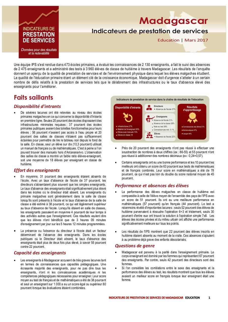 Aperçu du document 2016education brief French.pdf - page 1/10
