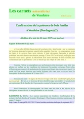 bois fossiles vendoire dordogne 2 addition d raymond 2017