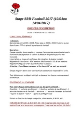 stage 2017 dossier inscription