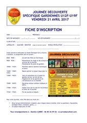 fiche d inscription journee gb
