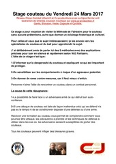 pdf stage couteau n 2