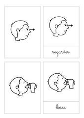 verbes en pictogramme