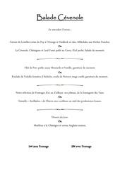 menu printemps 2017