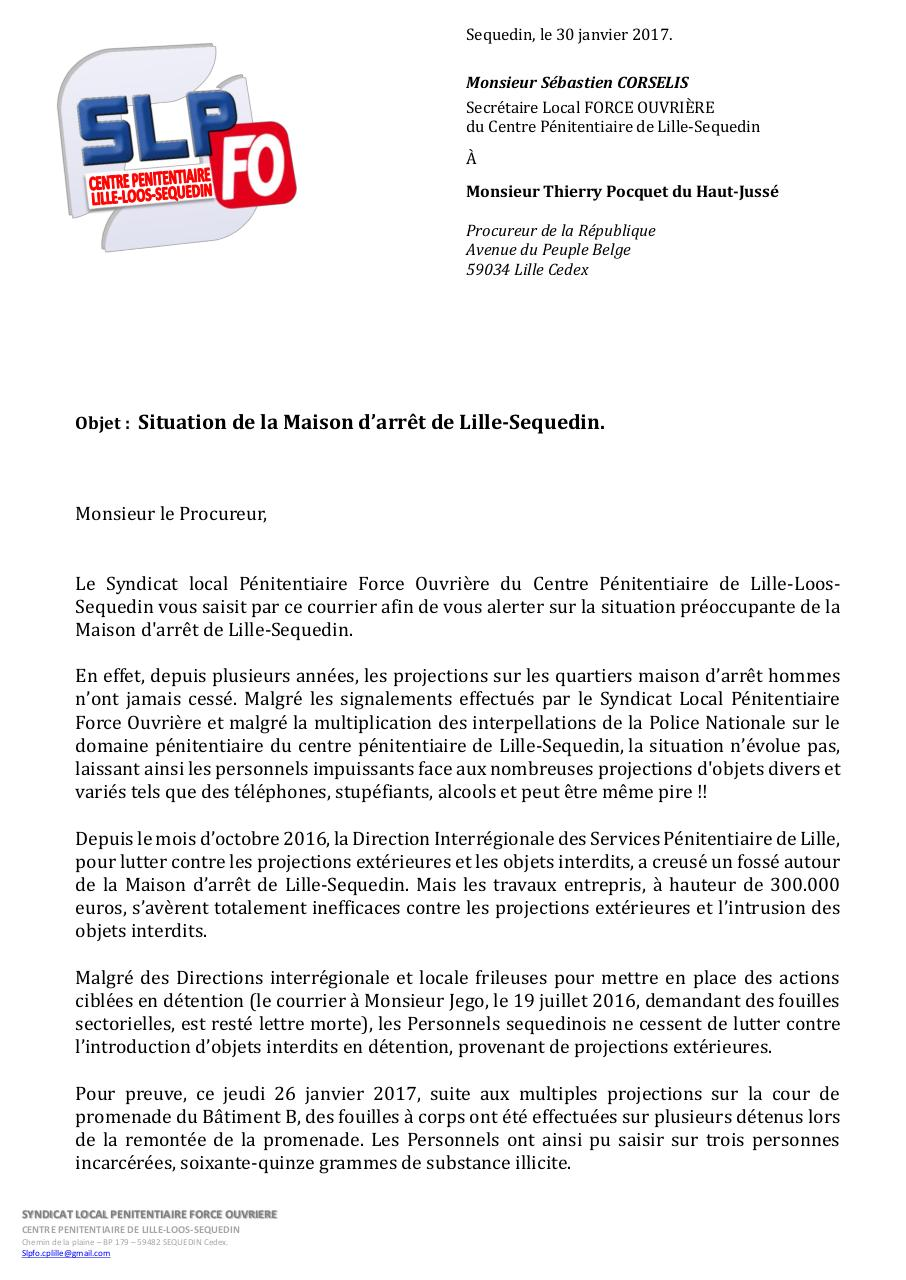 courrier Procureur 30012017.pdf - page 1/2