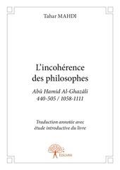 Fichier PDF incoherence de la philosophie al ghazali