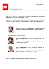 nouvelle organisation redaction numerique fevrier 2017