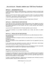 reglement jeu concours facebook mars 2017 vf