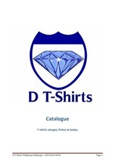 catalogue t shirts vierges d tshirts