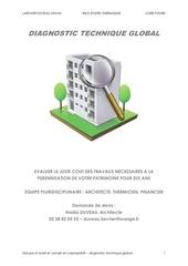 Fichier PDF diagnostic technique global