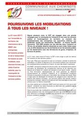 20170322 com poursuivons les mobilisations