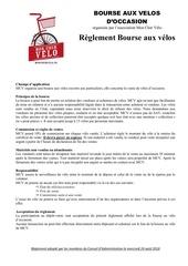 Fichier PDF bav reglement