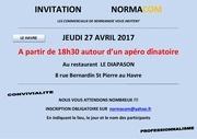 invitation workshop le havre avril 2017