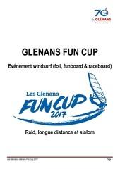organisation glenans funcup 2017