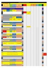 calendrier fin de saison 2 2017
