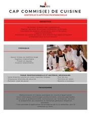 Fichier PDF cuisine cap