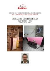 grille de controle gaz