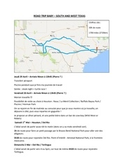 Fichier PDF road trip baby
