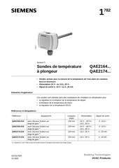 Fichier PDF sonde siemens qae2164 010