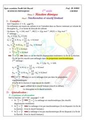 cours4 st chiometrie et reactif limitant