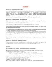 Fichier PDF re glement jeu concours selfish vaulx en velin