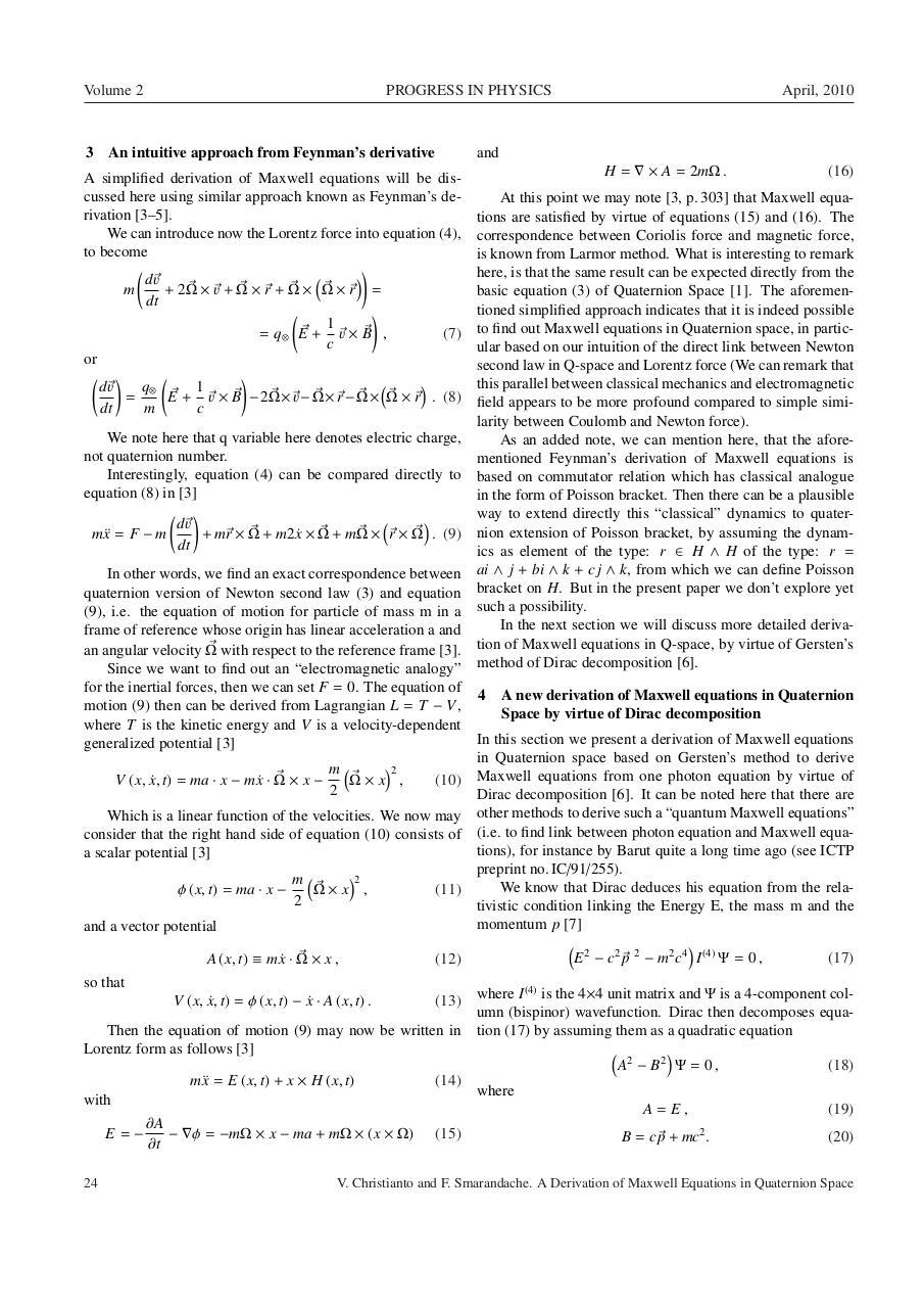Maxwell quaternion 2 - Fichier PDF