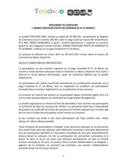 reglementconcours kietlamaroc du3au30avril2017