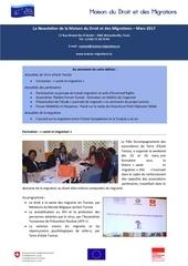 newsletter maison du droit et des migrations mars 2017