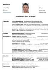 cv berenice pdf