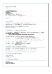Fichier PDF cv let motiv