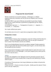 programm f r neuen kanzler 2