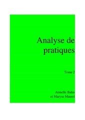 dossier analyse de pratique tome 2