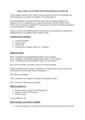 Fichier PDF mode d emploi telecommande programmateur trd 100