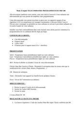 mode d emploi telecommande programmateur trd 100