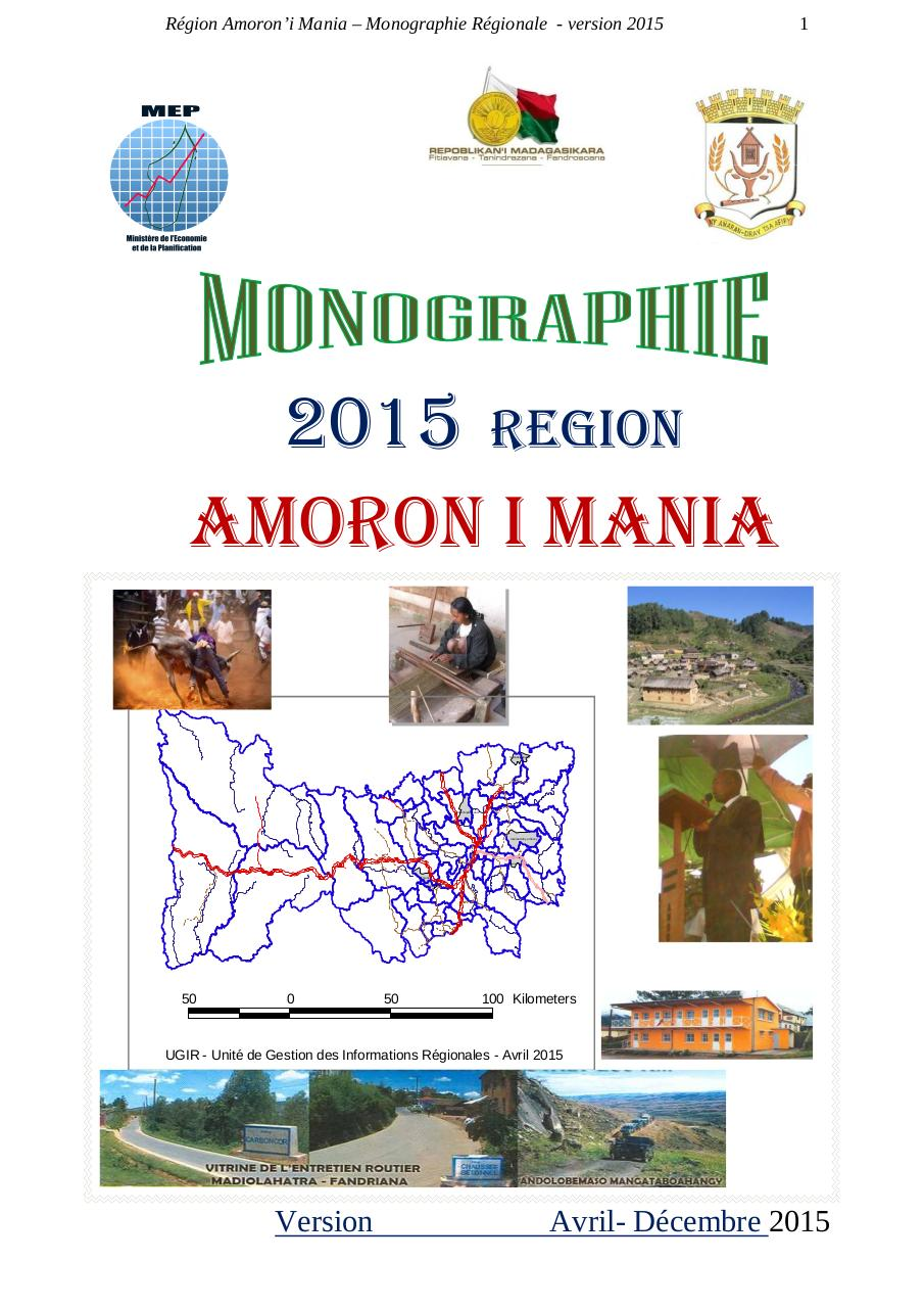Aperçu du document LA REGION AMORON'i MANIA -MONOGRAPHIE 2015 - 115pages.pdf - page 1/116
