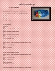 Fichier PDF crochet headband pattern