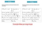 Fichier PDF exerice reconstituer une lettre