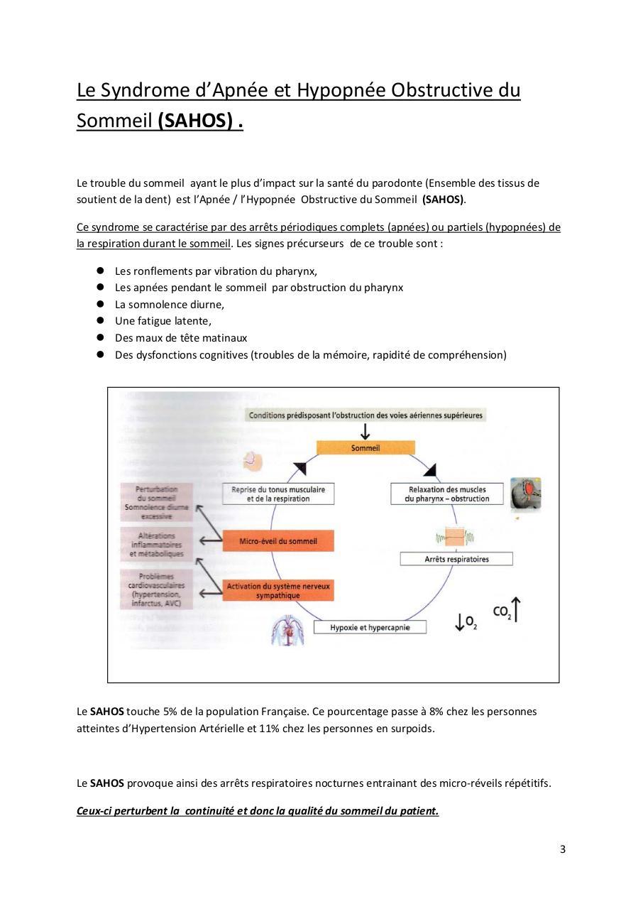 Impact des troubles du sommeil sur la Maladie Parodontale par Asus ...