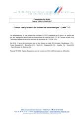 Fichier PDF prise en charge victimes terrorisme par onac