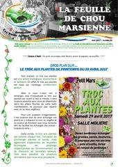 feuille de chou marsienne 30 avril 2017