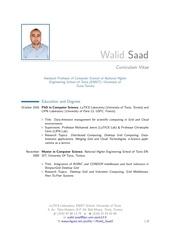 Fichier PDF cv walid saad
