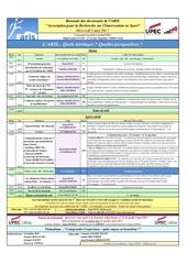 programme biennale doctorants aris et jad8 2017