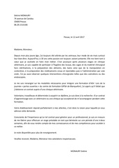 lettre de motivation asv 2