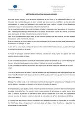 lettre de motivation leonard de vinci
