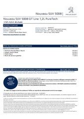 nouveau suv 5008 gt line
