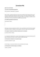 Fichier PDF correction pile 1