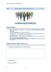 hr 1 introduction to human resources 1