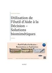 notice excel solutions biomimetiques