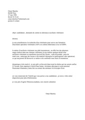 Fichier PDF omar lettre de motivation veterinaire pdf
