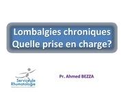 lombalgies chroniques 10 mars 17